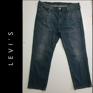 Levi's 541 Men Denim Blue Straight Jeans Size 42